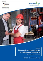 Brochure Cover - Economic Success Thanks To Ebusiness Standards